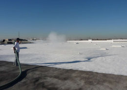 WHITE IS THE NEW GREEN: White Roof/Cool Roof Epoxy Overlay