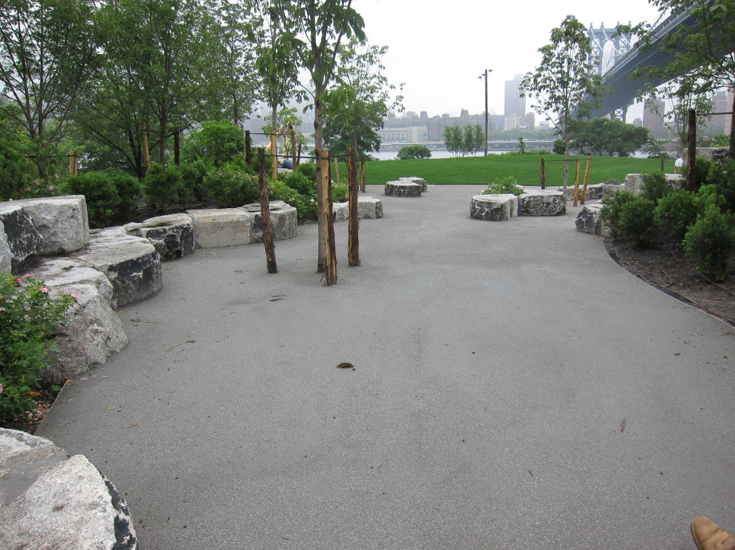 how to create a decomposed granite path