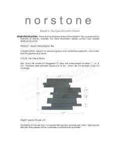 Basalt Interlocking Tiles Spec Sheet
