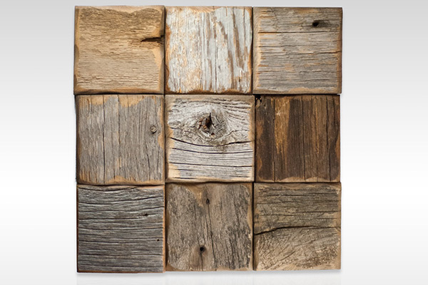 Collins Lemay Linden Meldrum Mulberry Reclaimed Barnwood Tile