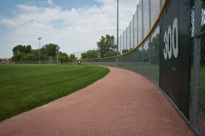 Ruby Red Stabilized Warning Track Mix - Buffalo Grove Park District - Buffalo Grove, IL