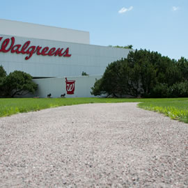 Pewter Stabilized Pathway - Walgreens Corporate Headquarters