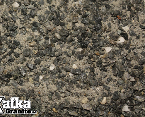 Sierra Black Granite Pathway Mix