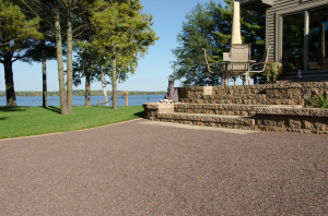 Chocolate Brown Standard Pathway - Private Residence, WI