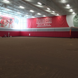 Burma Red Hilltopper Infield Mix - UW Softball Indoor Practice Facility - Madison, WI