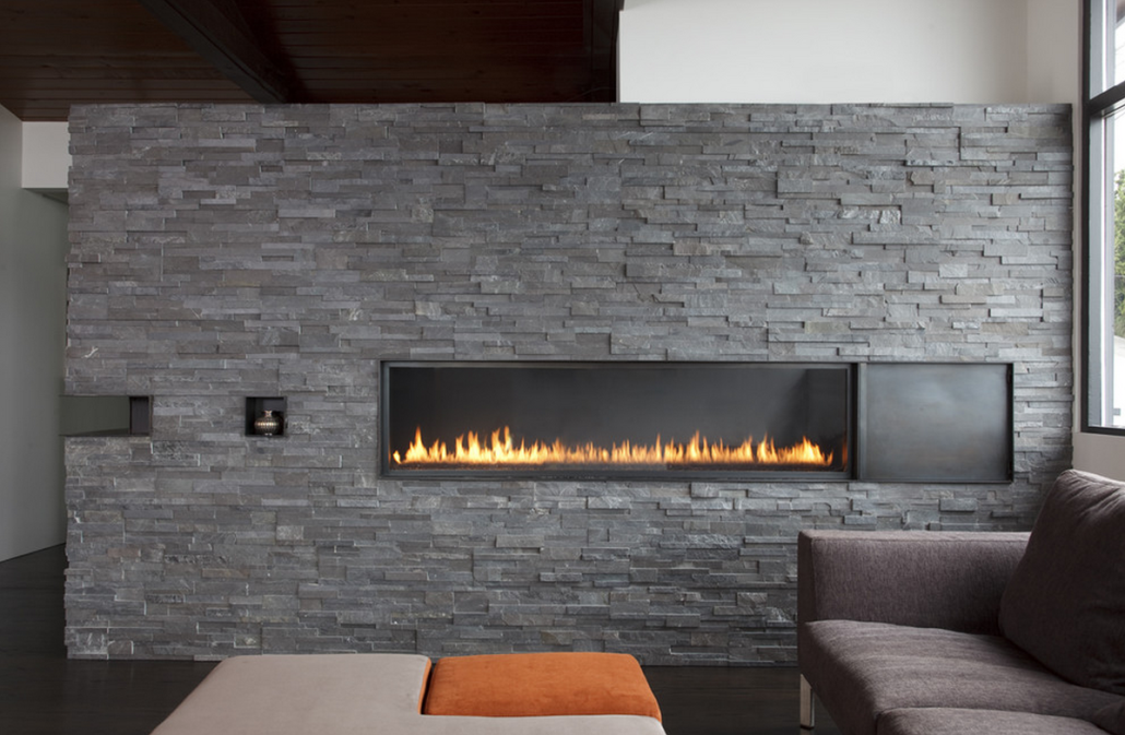 Charcoal Rock Panels by Norstone