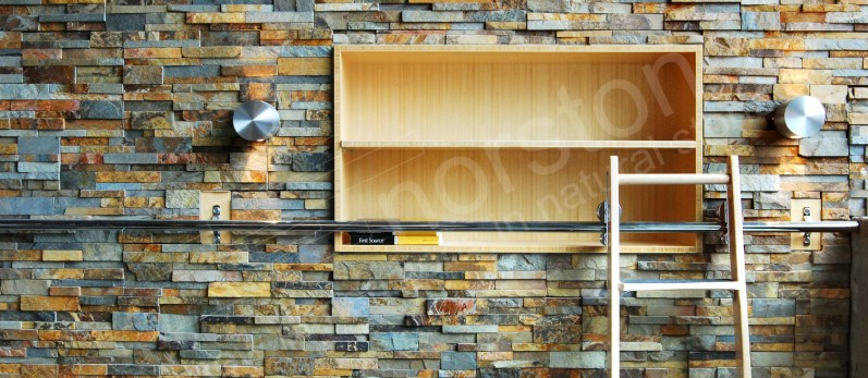Ochre Rock Panels by Norstone