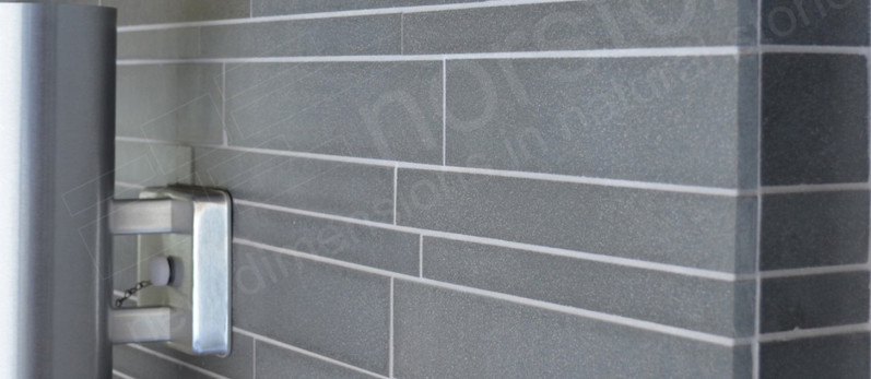 Ash Grey Basalt Interlocking Tiles by Norstone