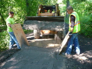 Perkins Woods Stabilized Pathway Installation