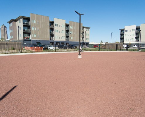 Standard Red Cedar Granite Pathway Mix - Cityville Dog Park - Des Moines, IA