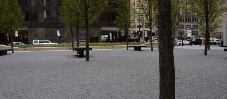 Platinum Granite Standard Pathway Material - Metropolitan Correctional Center - Chicago, IL