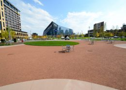 Rustic Granite Stabilized Pathway - Downtown East Commons - U.S. Bank Stadium - Minneapolis, MN