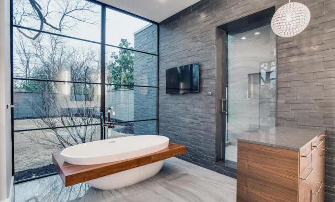 basalt bathroom tile