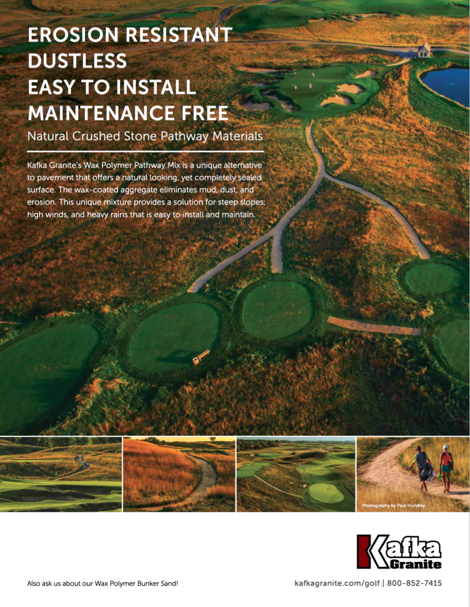 Kafka Golf Course Paths Flyer