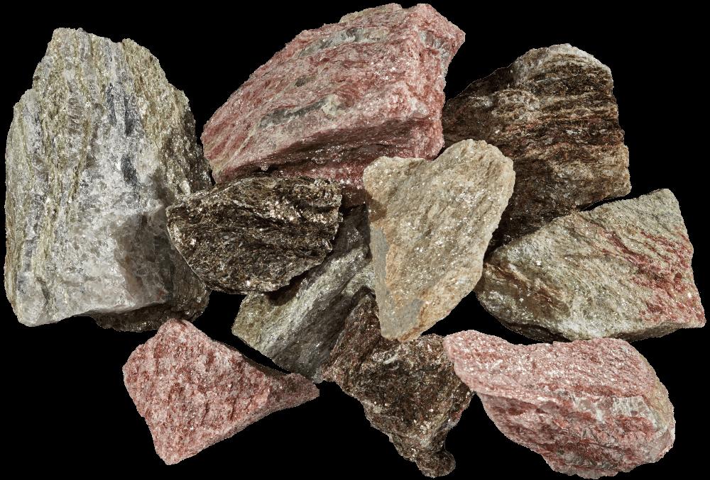 Glitter Series Raw Stone