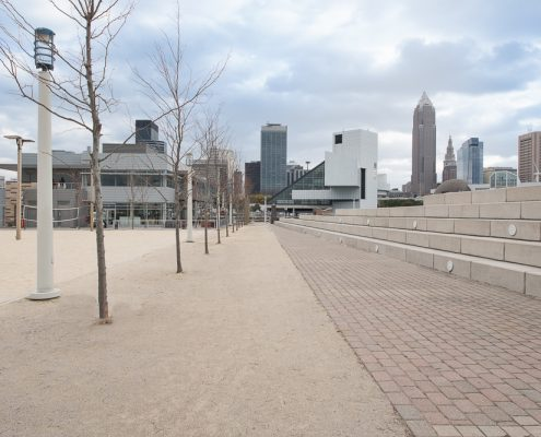 Beige Blend Stabilized Pathway Mix - North Coast Harbor - Cleveland, OH