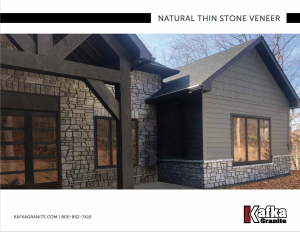 Kafka Natural Thin Stone Veneer Catalog