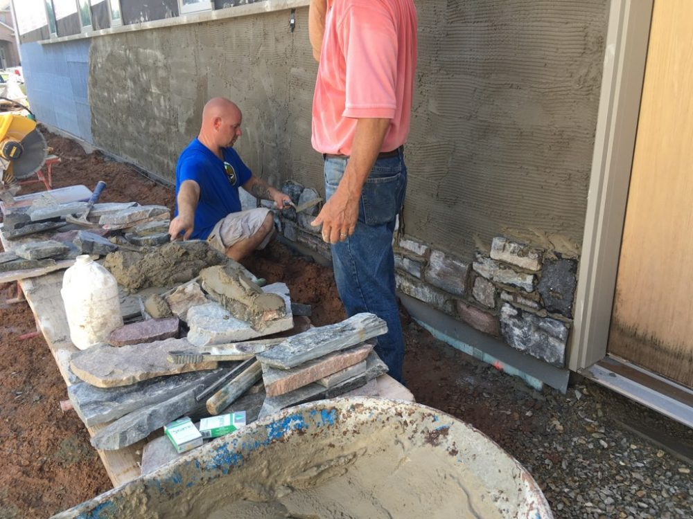 Which Type Of Mortar Should I Use For Thin Stone Veneer