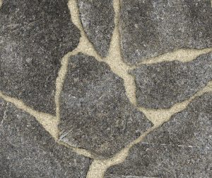 Starlight Black Granite Irregular Thermal Flagstone