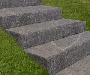 Starlight Black Granite Thermal-Top Steps