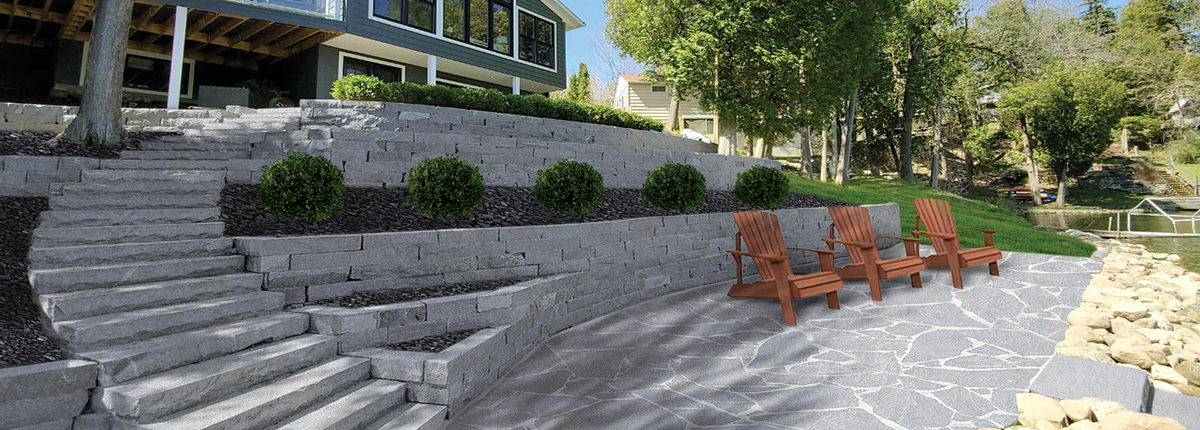 Natural Stone Hardscapes