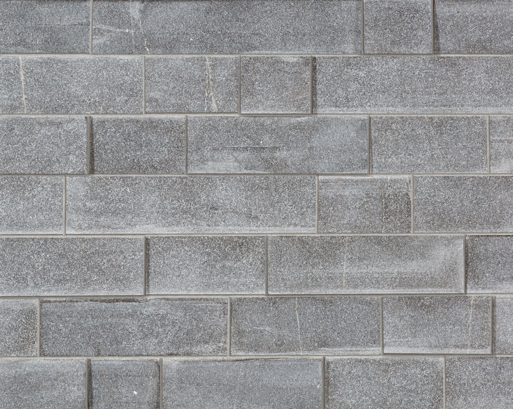 Imperial Gray Granite - Sawn Dimensional with Mortar Joint