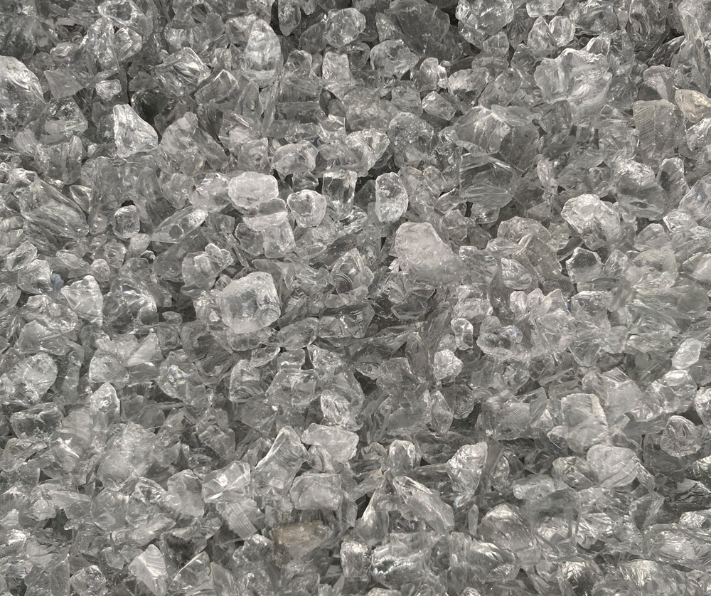 Recycled Smoked Glass - Aggregate