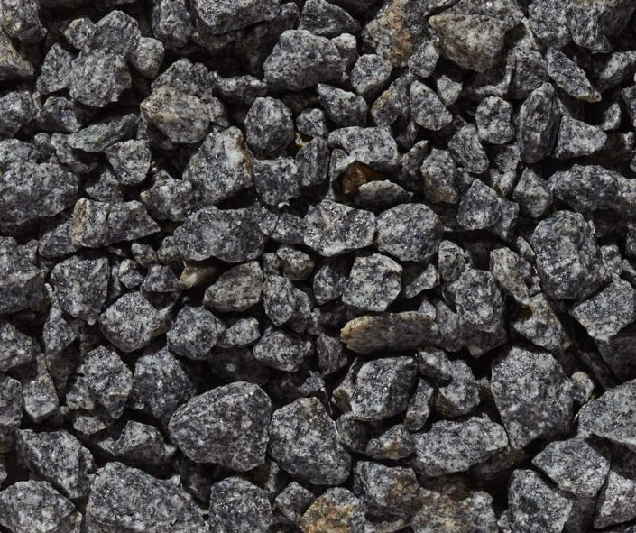 "Imperial Gray Specialty Aggregate 3/4"" x 1/4"""