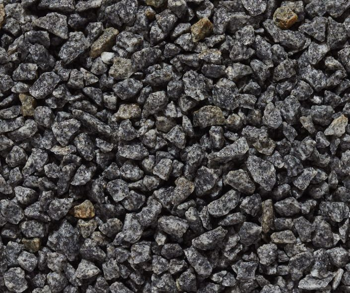 "Imperial Gray Specialty Aggregate 3/8"" x 1/4"""
