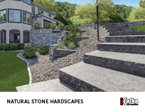 Natural Stone Hardscapes Catalog