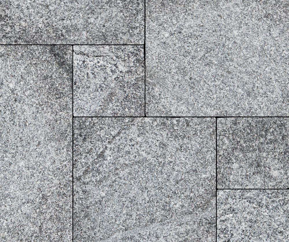 Imperial Gray Granite Pattern Thermal Flagstone